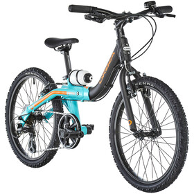 ORBEA Grow 2 7V Niños, black/jade green